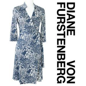 Diane Von Furstenberg Jeanne Dancing Sailor Dress
